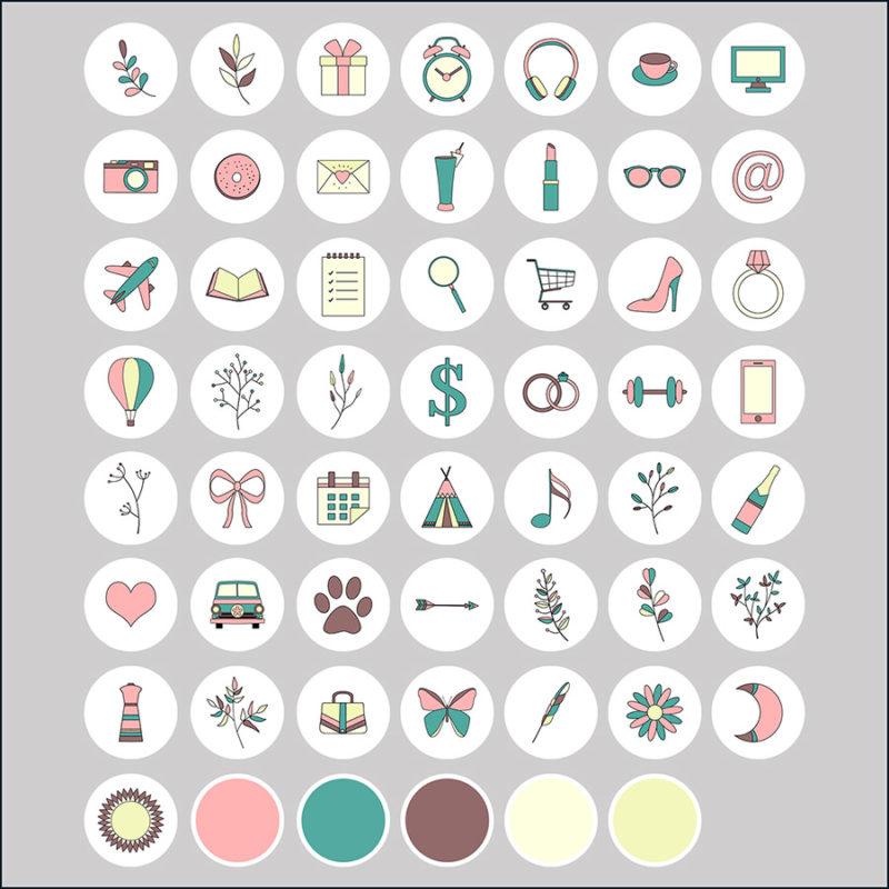 kolorowe-boho-rysowane-ikony-instagram-story-okladka-insta-stories-2