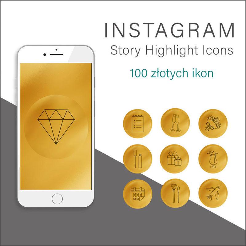 złote-rysowane-ikony-instagram-story-okladka-insta-stories-1