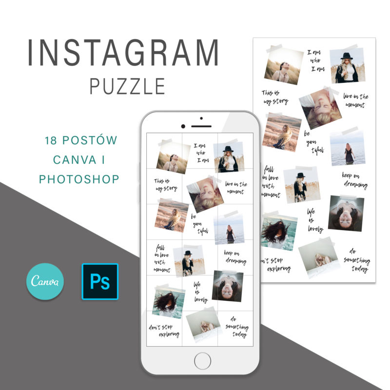 puzzle-instagram-szablon-dla-canva-photoshop-post-social-media-lifestylowy-plaster-1