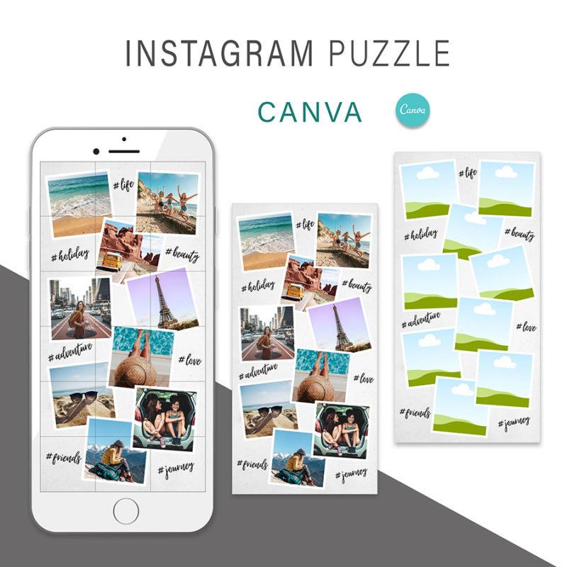 puzzle-instagram-szablon-dla-canva-photoshop-post-social-media-podroz-wakacje-przygoda-2