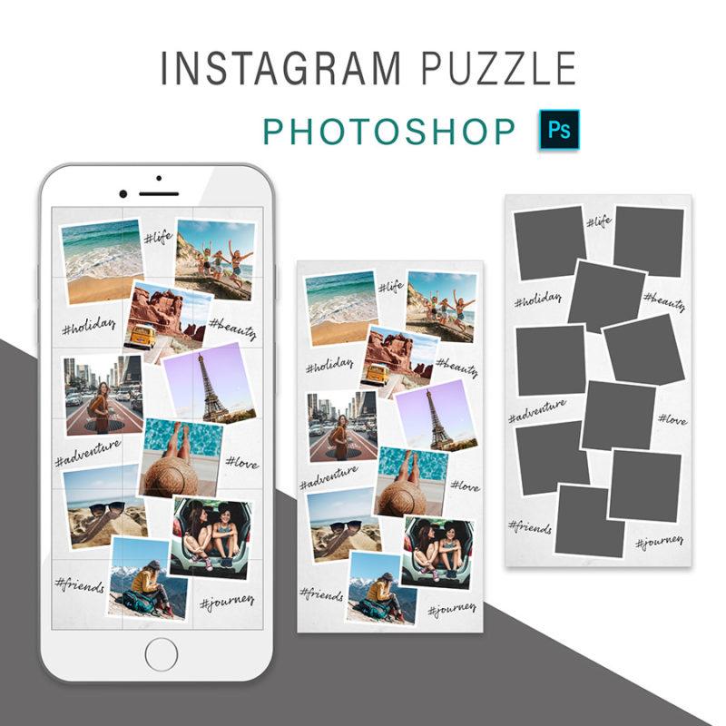 puzzle-instagram-szablon-dla-canva-photoshop-post-social-media-podroz-wakacje-przygoda-3