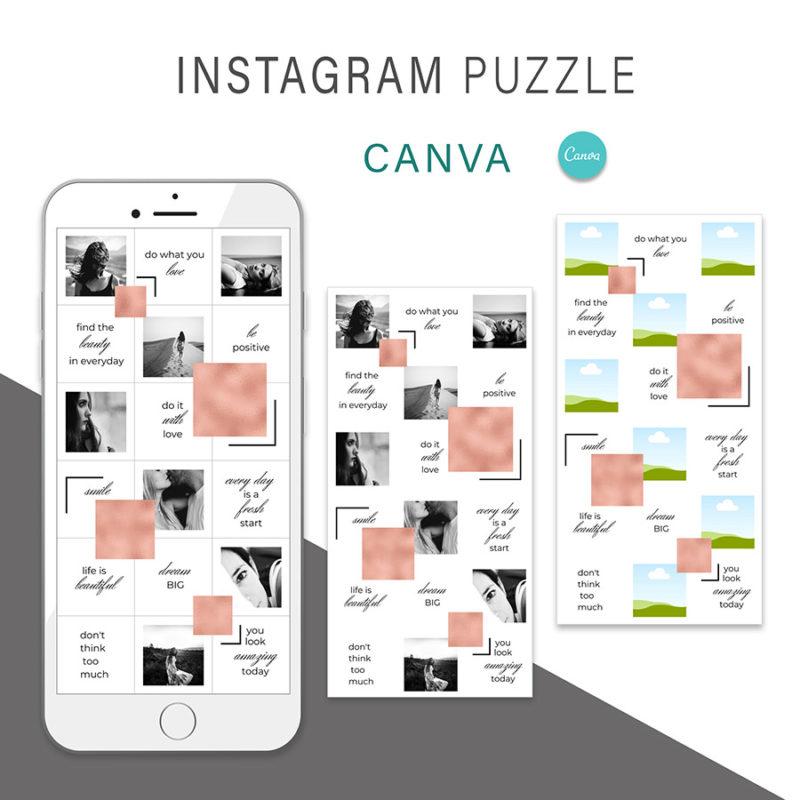 puzzle-instagram-szablon-dla-canva-photoshop-post-social-media-rose-gold-rozowe-zloto-2