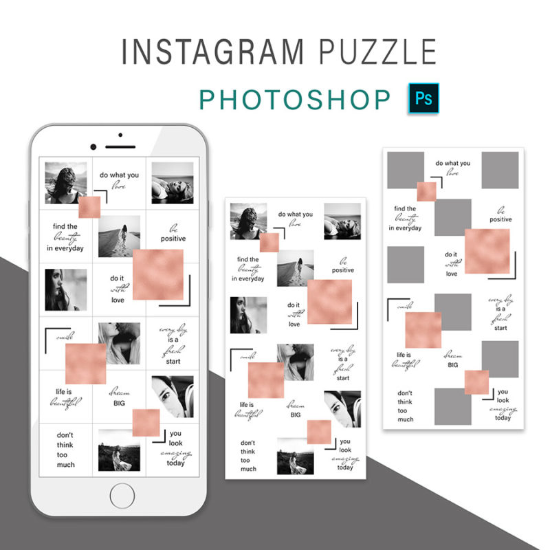 puzzle-instagram-szablon-dla-canva-photoshop-post-social-media-rose-gold-rozowe-zloto-3