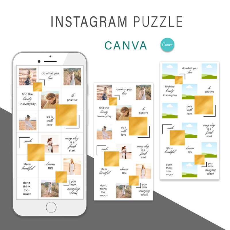 puzzle-instagram-szablon-dla-canva-photoshop-post-social-media-zloty-2