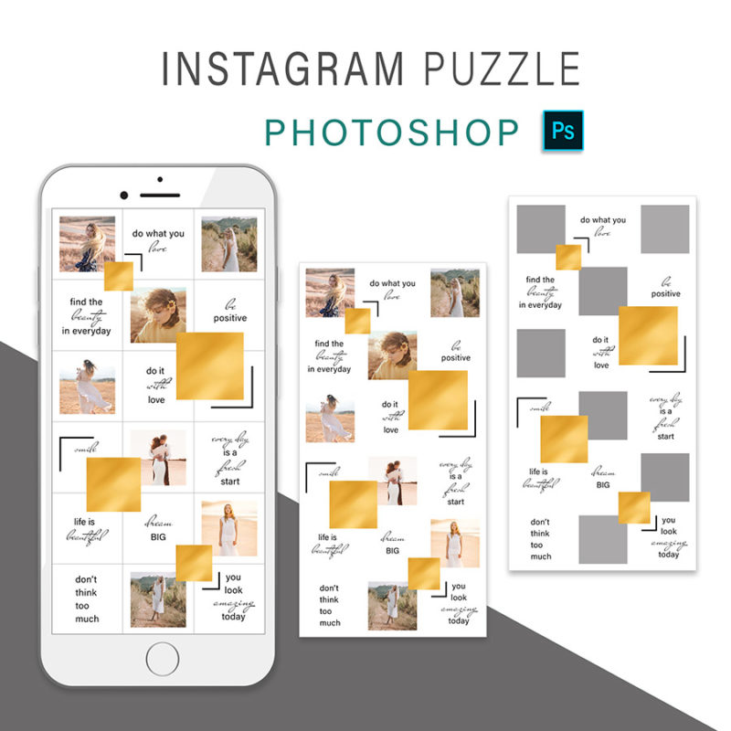 puzzle-instagram-szablon-dla-canva-photoshop-post-social-media-zloty-3