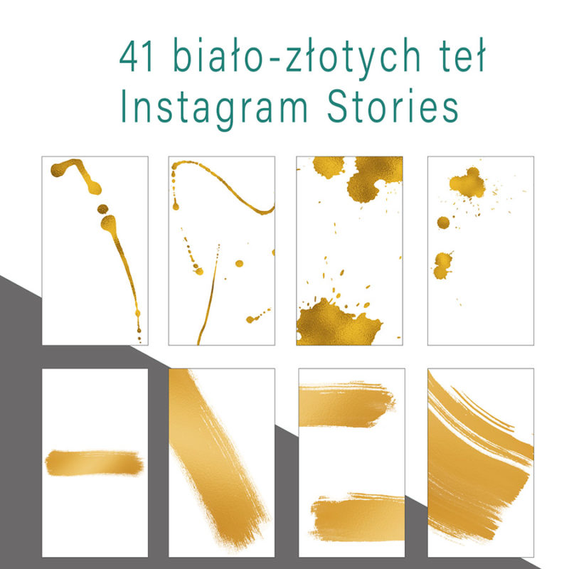 instagram-stories-cyfrowe-tla-bialo-złote-tusz-kleks-mazniecie-farba-social-media-zestaw-teł