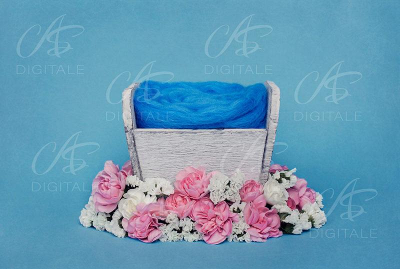 tło-cyfrowe-noworodek-newborn-digital-backdrop-kolorowe-kwiaty-skrzynka-niebieskie-tlo