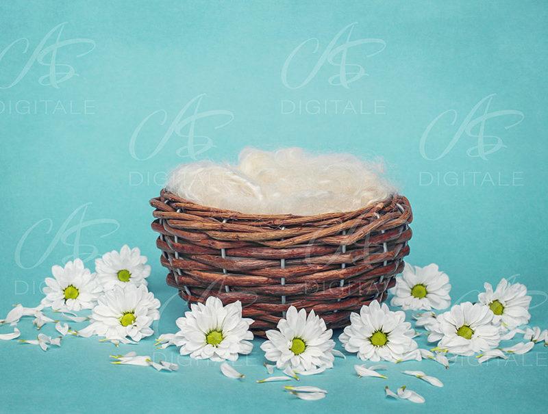 tło-cyfrowe-noworodek-newborn-digital-backdrop-wiklinowy-koszyk-biale-kwiatki