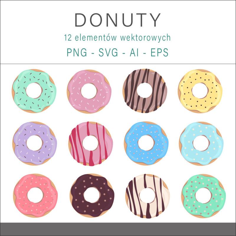 grafika-wektorowa-png-svg-ai-eps-donuty-czekoladowe-z-polewa-ciastka-1