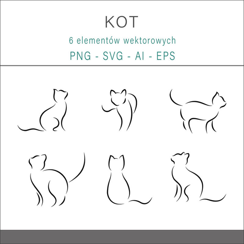 grafika-wektorowa-png-svg-ai-eps-kot-linia-rysunek-liniowy-ilustracja-clip-art-1