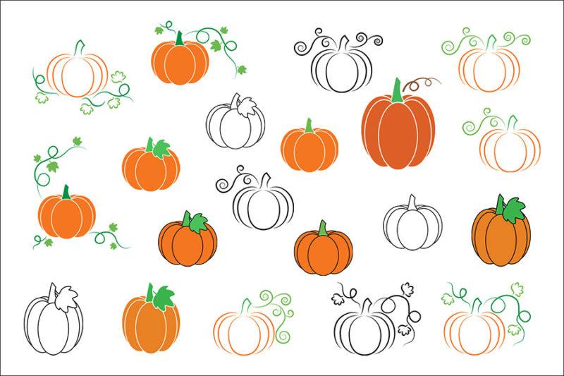grafika-wektorowa-png-svg-ai-eps-dynie-halloween-lineart-rysunek-ilustracja-2