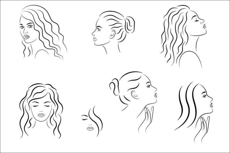 grafika-wektorowa-png-svg-ai-eps-kobieta-twarz-rysunek-logo-ilustracja-clip-art-18
