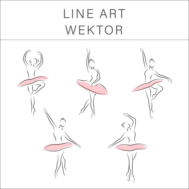 LINE ART WEKTOR