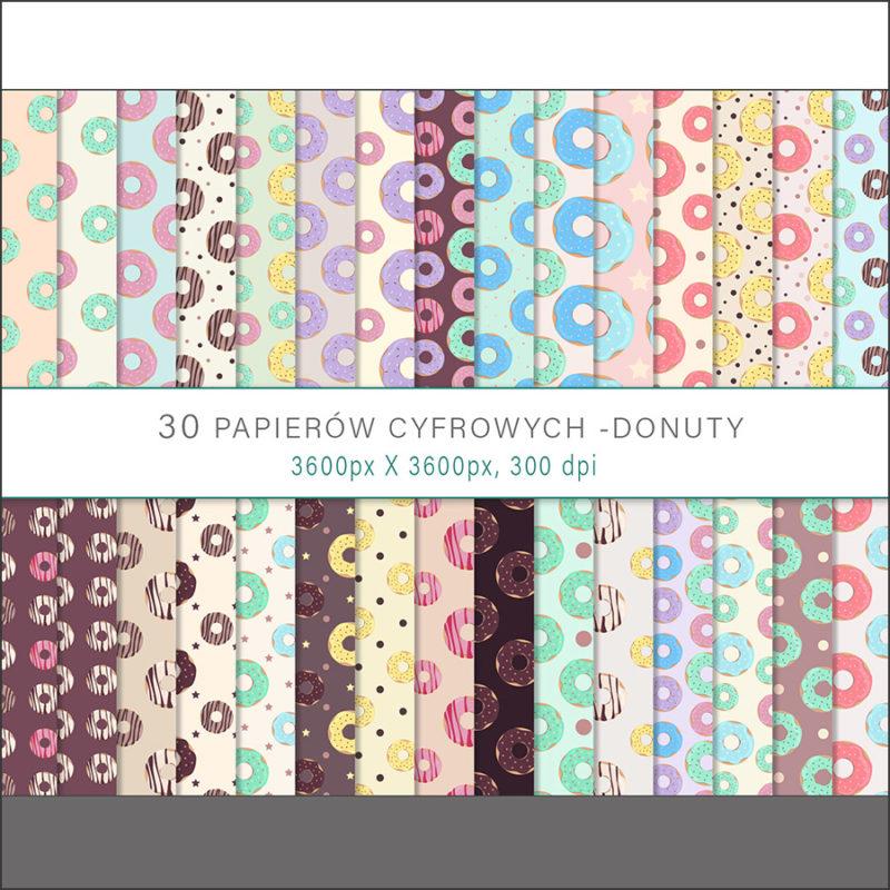 papier-cyfrowy-donuty-bezszwowe-wzory-paczki-z-dziurka-ciastka-pakiet-30-sztuk-1