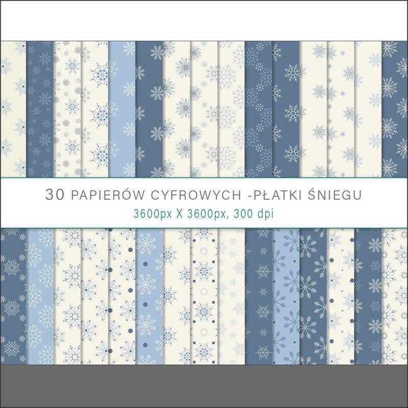 papier-cyfrowy-platki-sniegu-bezszwowe-wzory-zima-swieta-sniezki-pakiet-30-sztuk-1