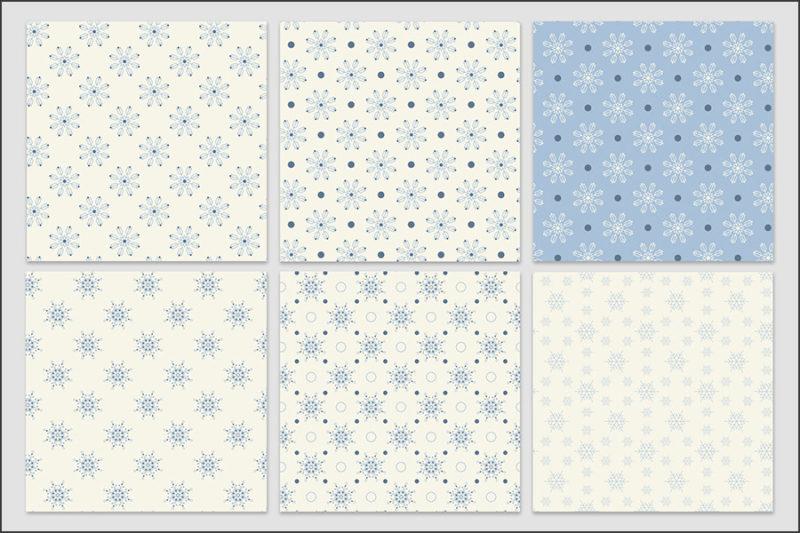 papier-cyfrowy-platki-sniegu-bezszwowe-wzory-zima-swieta-sniezki-pakiet-30-sztuk-5