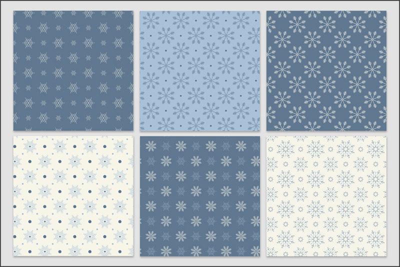 papier-cyfrowy-platki-sniegu-bezszwowe-wzory-zima-swieta-sniezki-pakiet-30-sztuk-6