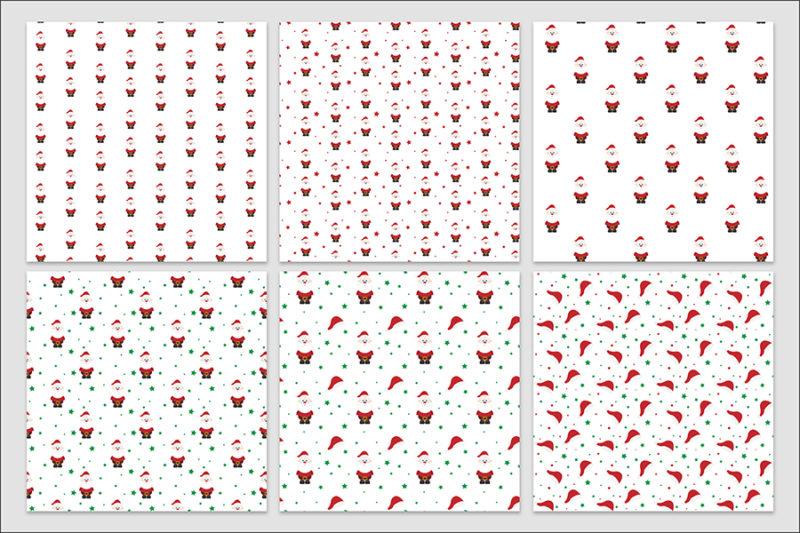 papier-cyfrowy-swiateczny-bezszwowy-wzory-boze-narodzenie-pakiet-30-sztuk-2