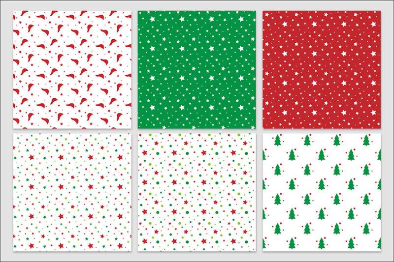 papier-cyfrowy-swiateczny-bezszwowy-wzory-boze-narodzenie-pakiet-30-sztuk-3