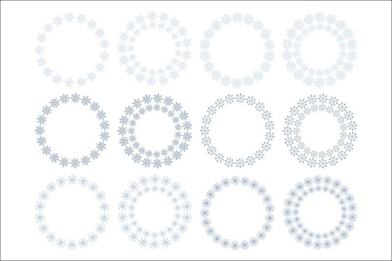 cyfrowe-ramki-platki-sniegu-swieta-boze-narodzenie-zima-kolorowe-czarne-biale-ozdobne-grafika-szablon-3