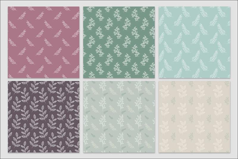 papier-cyfrowy-botanika-bezszwowe-wzory-kwiaty-boho-pakiet-30-sztuk-2