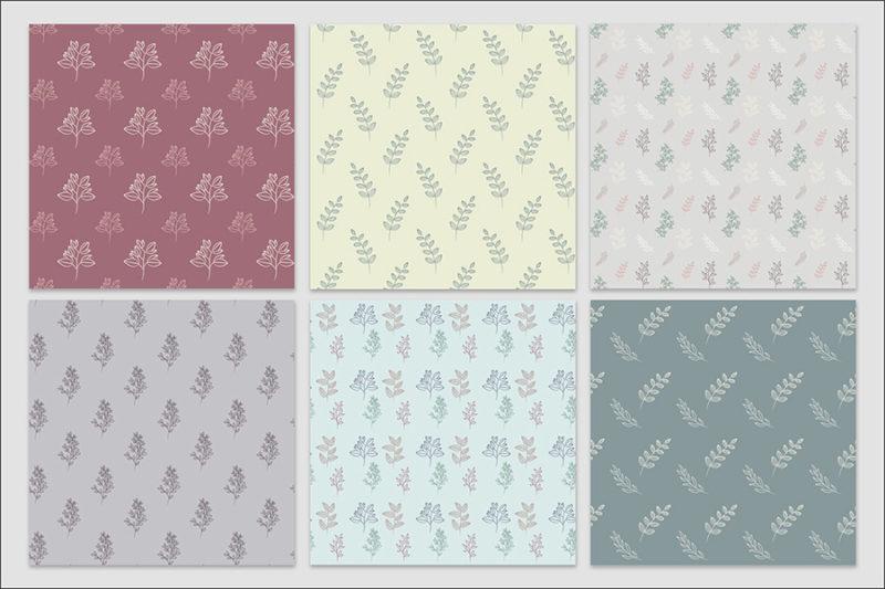 papier-cyfrowy-botanika-bezszwowe-wzory-kwiaty-boho-pakiet-30-sztuk-3