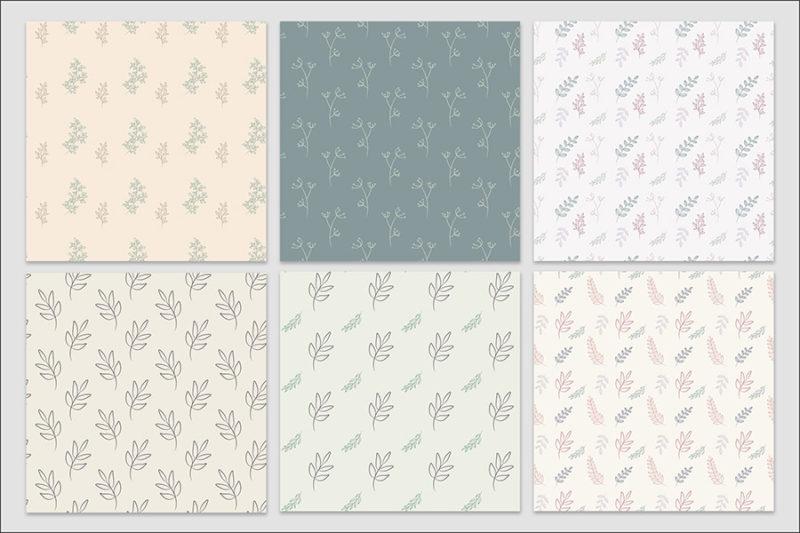 papier-cyfrowy-botanika-bezszwowe-wzory-kwiaty-boho-pakiet-30-sztuk-4