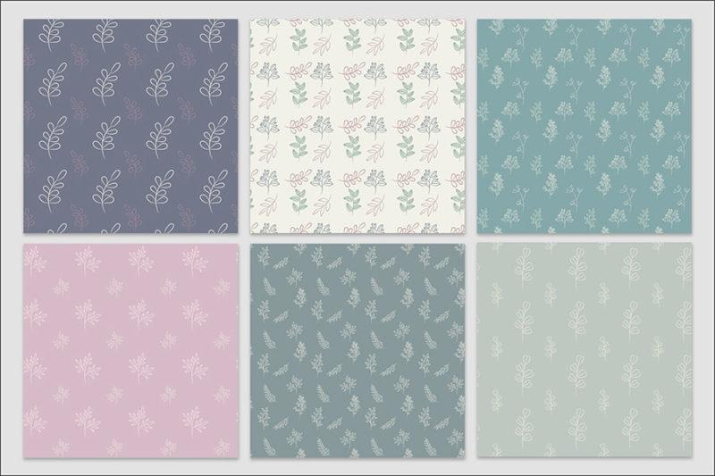 papier-cyfrowy-botanika-bezszwowe-wzory-kwiaty-boho-pakiet-30-sztuk-5