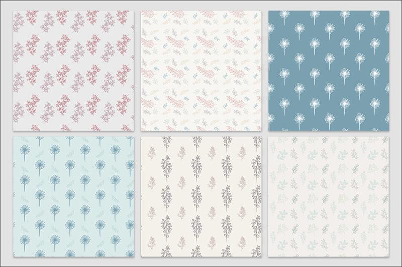 papier-cyfrowy-botanika-bezszwowe-wzory-kwiaty-boho-pakiet-30-sztuk-6