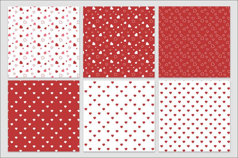 papier-cyfrowy-serca-bezszwowe-wzory-valentynki-love-pakiet-30-sztuk-3