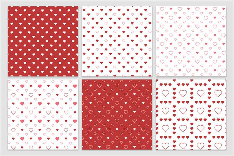 papier-cyfrowy-serca-bezszwowe-wzory-valentynki-love-pakiet-30-sztuk-4