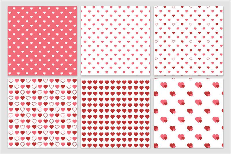 papier-cyfrowy-serca-bezszwowe-wzory-valentynki-love-pakiet-30-sztuk-5