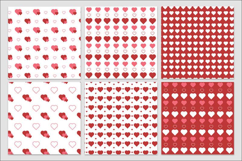 papier-cyfrowy-serca-bezszwowe-wzory-valentynki-love-pakiet-30-sztuk-6