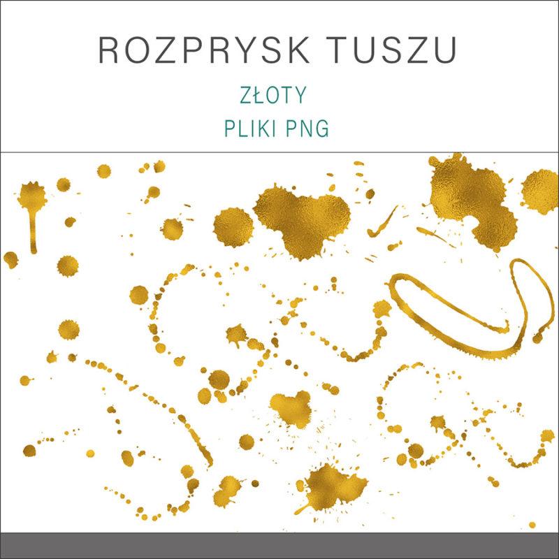 clipart-grafika-png-przezroczyste-tlo-rozprysk-tuszu-kleks-kolor-zloty-2