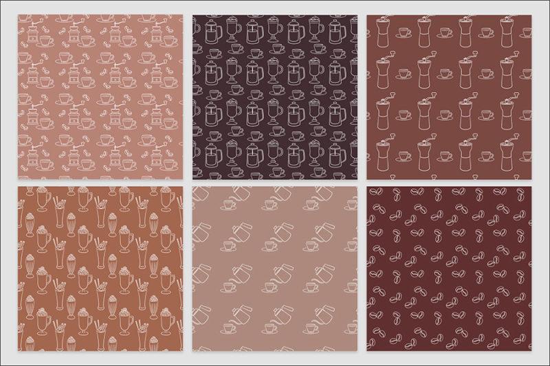 papier-cyfrowy-kawa-expresso-late-filizanka-mlynek--bezszwowe-wzory-pakiet-30-sztuk-6