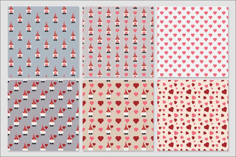 papier-cyfrowe-gnomy-walentynkowe-walentynki-love-krasnale-skrzaty-bezszwowe-wzory-pakiet-30-sztuk-2