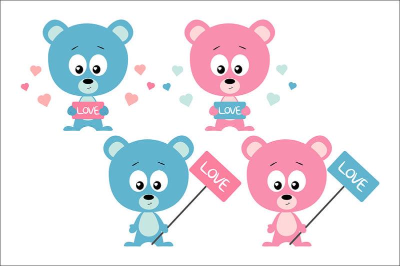 grafika-wektorowa-png-svg-ai-eps-walentynkowe-misie-niebieskie-rozowe-love-ilustracja-clip-art-2