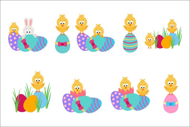 grafika-wektorowa-png-svg-ai-eps-wielkanoc-zajaczek-jajka-koszyczek-kurcatko-pisanki-ilustracja-clip-art-3