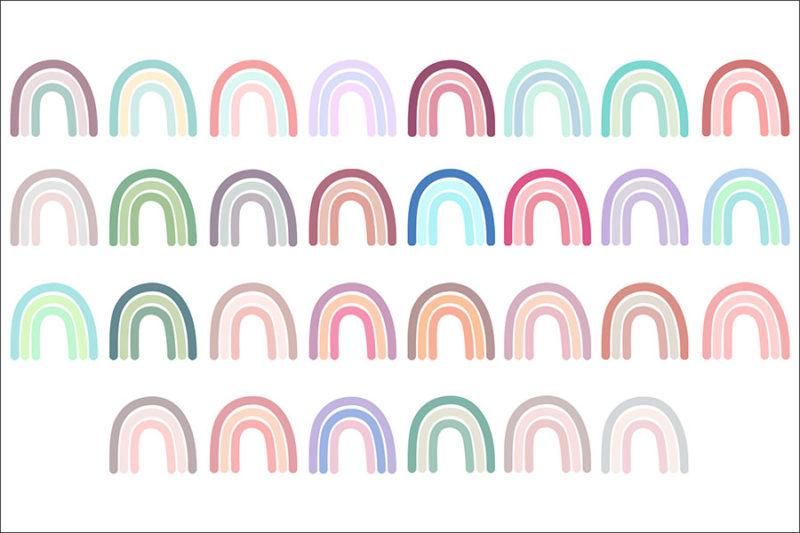 grafika-wektorowa-png-clipart-tecza-kolorowa-pastelowa-plakat-nadruk-ilustracja-rysunek-wektorowy-2