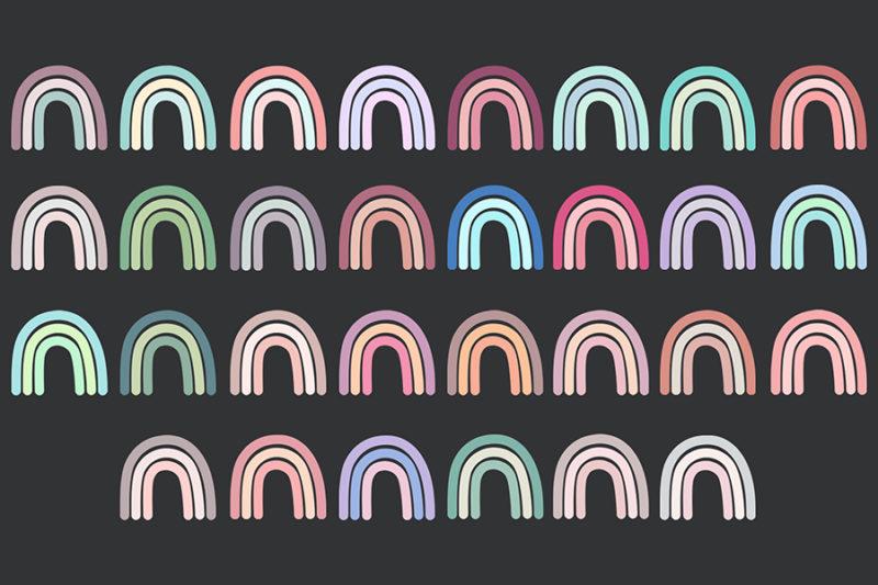 grafika-wektorowa-png-clipart-tecza-kolorowa-pastelowa-plakat-nadruk-ilustracja-rysunek-wektorowy-3